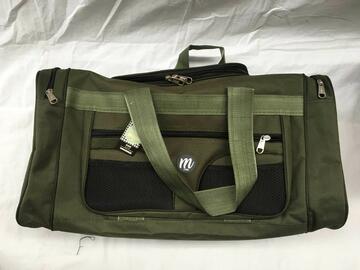 Borsone verde militare 55 cm