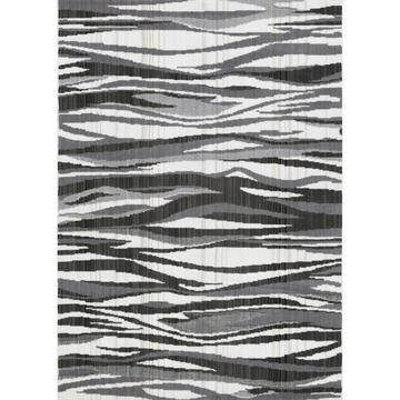Tappeto moderno Carter zebrato 57 X 90