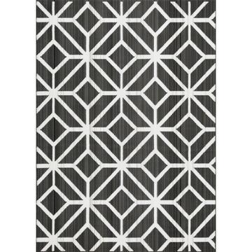 Tappeto moderno Carter mosaico Nero 200 X 285