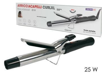 Arricciacapelli CurlXl in acciaio, 25W.