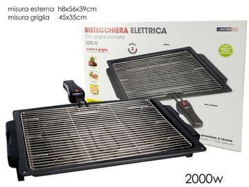 Bistecchiera elettrica, 2000W