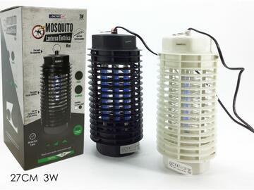 Lanterna elettrica Mosquito Killer, 3W. Disponibile in due colori.