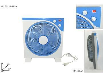 Ventilatore da tavolo, 30 cm, dal design classico e semplice.