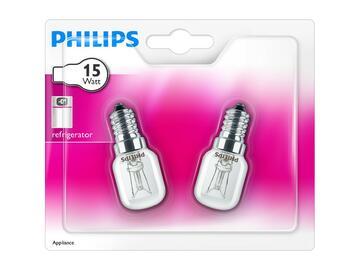 2 Lampadine tubolari per frigo 15W, E14