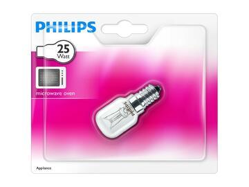 Lampadina tubolare per microonde 25W, E14