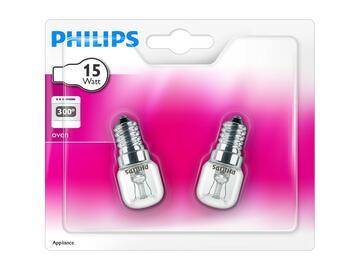2 Lampadine tubolari per forno 15W E14