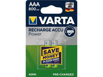 2 Batterie ministilo AAA ricaricabili