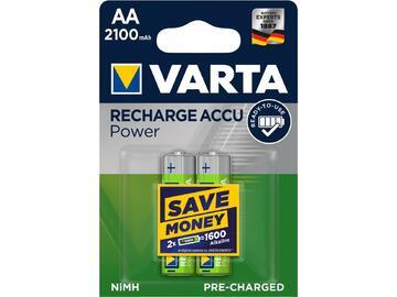 2 Batterie stilo AA ricaricabili