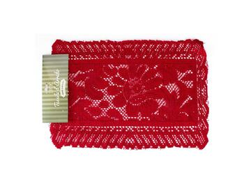 2 tovagliette opera rosse 33x46 cm