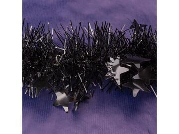 Filo 10x200 cm colore nero stelle