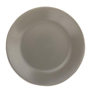 Piatto fondo Erin grigio