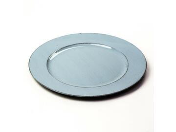 Sottopiatto diam 33 grigio chiaro anticato