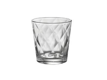 6 Bicchieri Kaleido da acqua, in vetro.