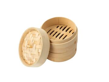 Vaporiera 15cm bamboo