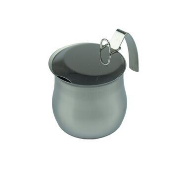 Bricco da caffe 4 tazze in acciaio inox