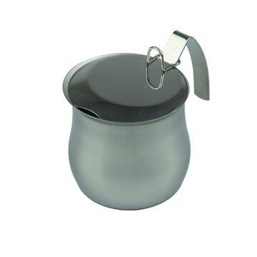 Bricco da caffe 8 tazze in acciaio inox