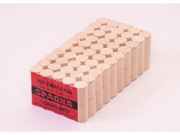 100 Tappi agglomerato 24 x 38