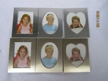 10 Portafoto clip colorati