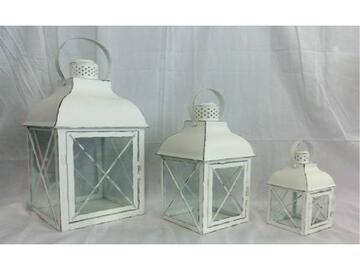 Set di 3 lanterne Vanity