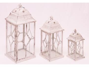 Set di 3 lanterne Krum
