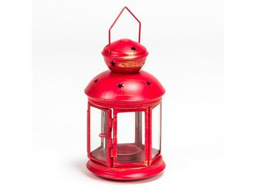 Lanterna Brenny cm 30 Rossa