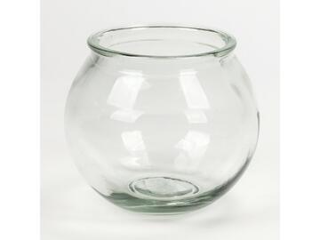 Vasetto di vetro 22 x 18,5 cm