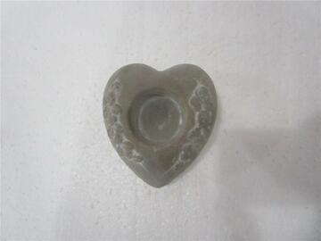 Portacandela a forma di cuore Stone.