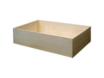 Box medio portatutto, in legno 12x22x10 cm.