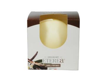 Candela sfera 6 vaniglia