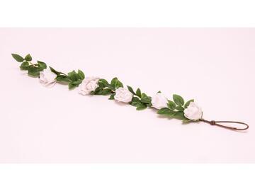 Tralcio 5 rose bianche