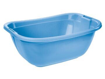 Bacinella ovale 22 Lt azzurro