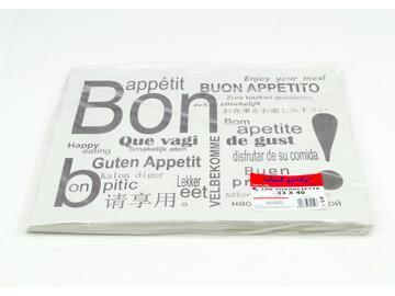100 Tovagliette Bon Appetit