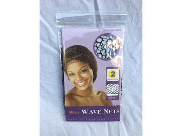 2 Retine nere per capelli