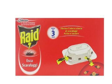 Esca insetticida Raid per sconfiggere gli scarafaggi