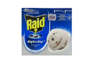 Base Raid Night E Day contro le zanzare comuni e tigre