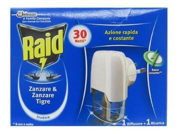 Base Raid liquido contro le zanzare tigre e comuni
