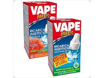 Ricarica insettocida Vape Magic profumata