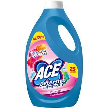 Detersivo liquido igienizzante Ace per capi colorati 25 lavaggi