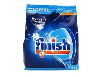Detersivo in polvere Finish ricarica 1,6 Kg