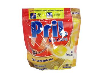 Detersivo gel concentrato Pril limone 20 pezzi