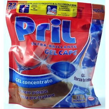 Detersivo gel concentrato Pril classiche 22 pezzi