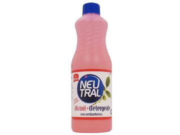 Alcool pi¨ detergente con antibatterico Neutral