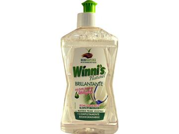 Brillantante ipoallergenico Winni's con aceto naturale biologico 250 Ml