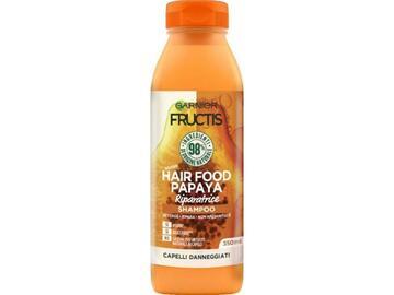 Shampoo riparatrice Fructis Hair Food con papaya 350 Ml