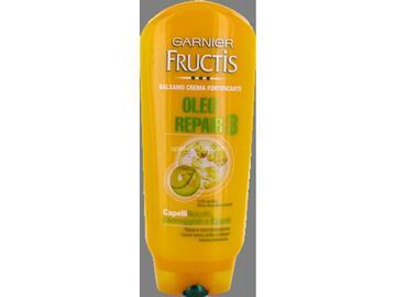Balsamo crema fortificante Fructis oleo repair per capelli secchi, danneggiati o spenti 200 Ml