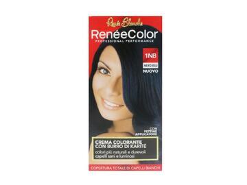 Crema colorante RenÞe Color con burro di karitÞ nero blu