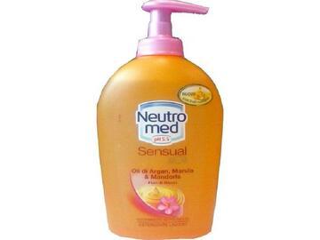 Detergente liquido Neutromed sensual con oli di argan e mandorla 300 Ml