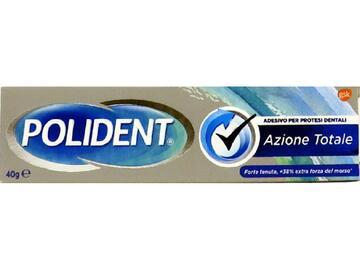 Adesivo per protesi dentali Polident azione totale 40 Gr
