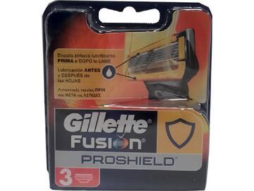Ricambi per rasoio Gillette fusion proshield 3 pezzi