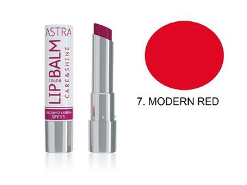 Balsamo labbra Astra color rosso moderno